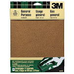 3m 9in. X 11in. Course Paint Wood Metal Sandpaper Sheets 9003NA