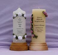 Jennies Candles   Sligo   personalised wedding candles