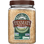 Rice Select Texmati Rice - Brown - 32 Ounce -PACK 4