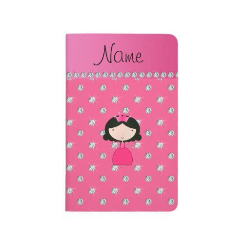 Personalized name princess pink diamonds journals