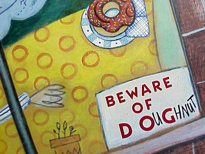 beware of doughnut