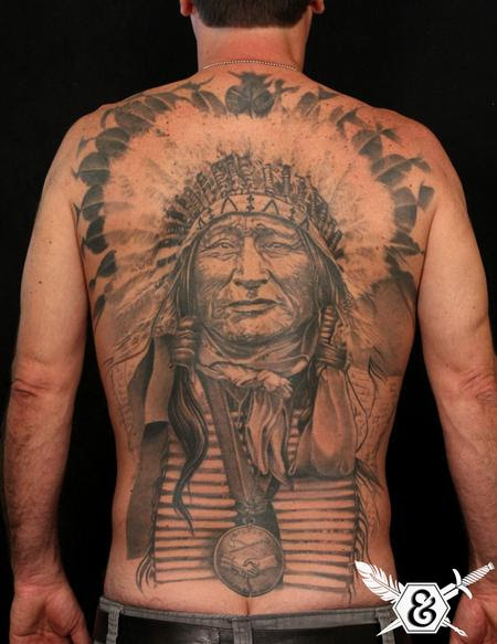 The Best Native American Tattoos On The Back In 2017 Real Photo