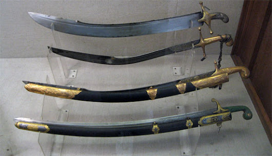 Islamic swords from the 14th century on (Islamic swords Part 2)
