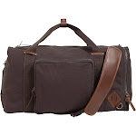Alternative Men's Weekender Duffle, Charcoal