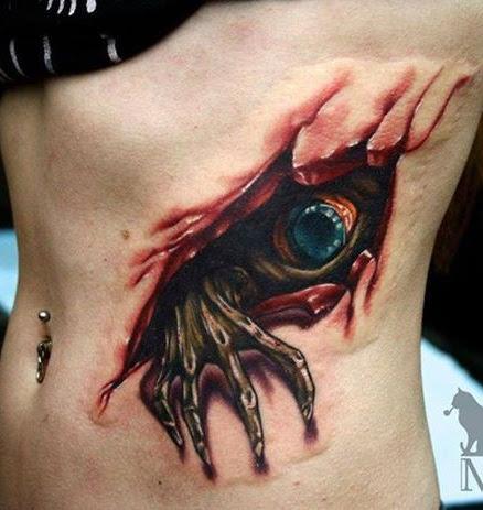 Rip Angel Wing Tattoos