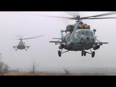 Ukrainian and U.S. Army Soldiers Conduct Air Assault Training - YouTube