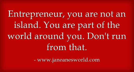 Entrepreneur - Don't Be Afraid to Be Strong and Take a Stand • Janeane's World