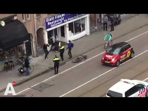 An Anti-Semitic Allahu Akbar in Amsterdam