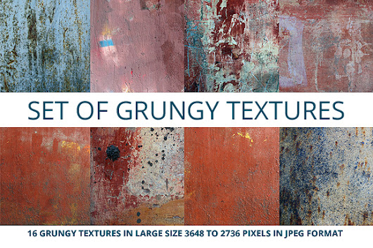Set of grungy textures ~ Textures on Creative Market