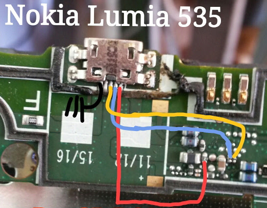 Microsoft Lumia 535 Usb Charging Problem Solution Jumper Ways