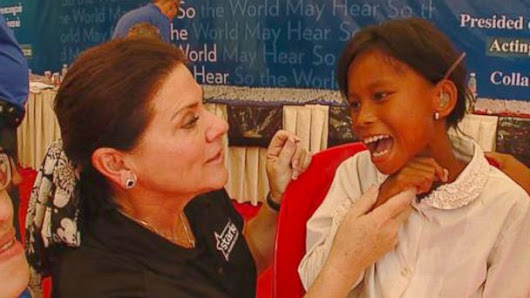Couple Brings Gift of Hearing to Impaired Across the Globe