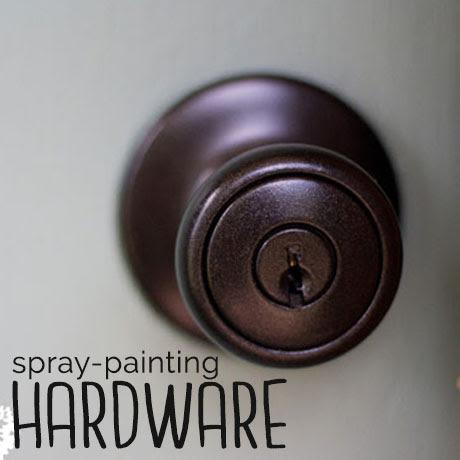 orb spray paint door hardware knobs