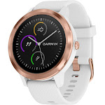 Garmin vívoactive 3 Smart Watch - White/Rose Gold (010-01769-09 / VIVOACTIVE3R)