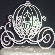 princess carriage Cake Topper