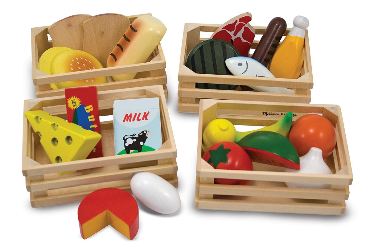 Wooden Play Food Set | Food Groups - Melissa & Doug®