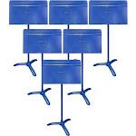 Manhasset Model #48 Symphony Music Stand 6-Pack - Blue
