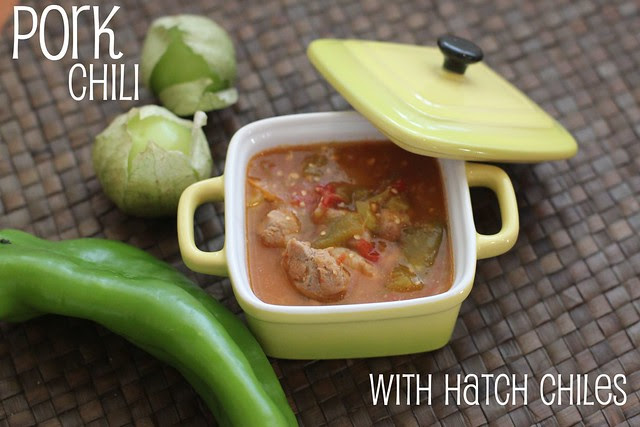 New Mexico Hatch Chile Pork Chili