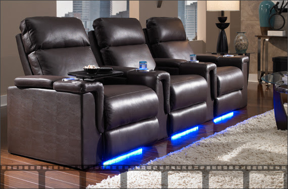 Home Theater Seating, Home Theater Furniture, Movie Theater Seats ...