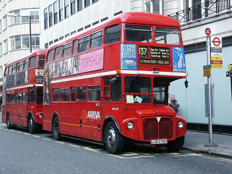Clondoner92 80 Year Old London Bus Route 137 Is Due To