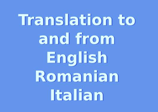 Translate From Italian To English: Adrian Badiu