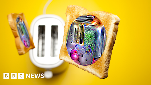 Psychedelic toasters fool image tech