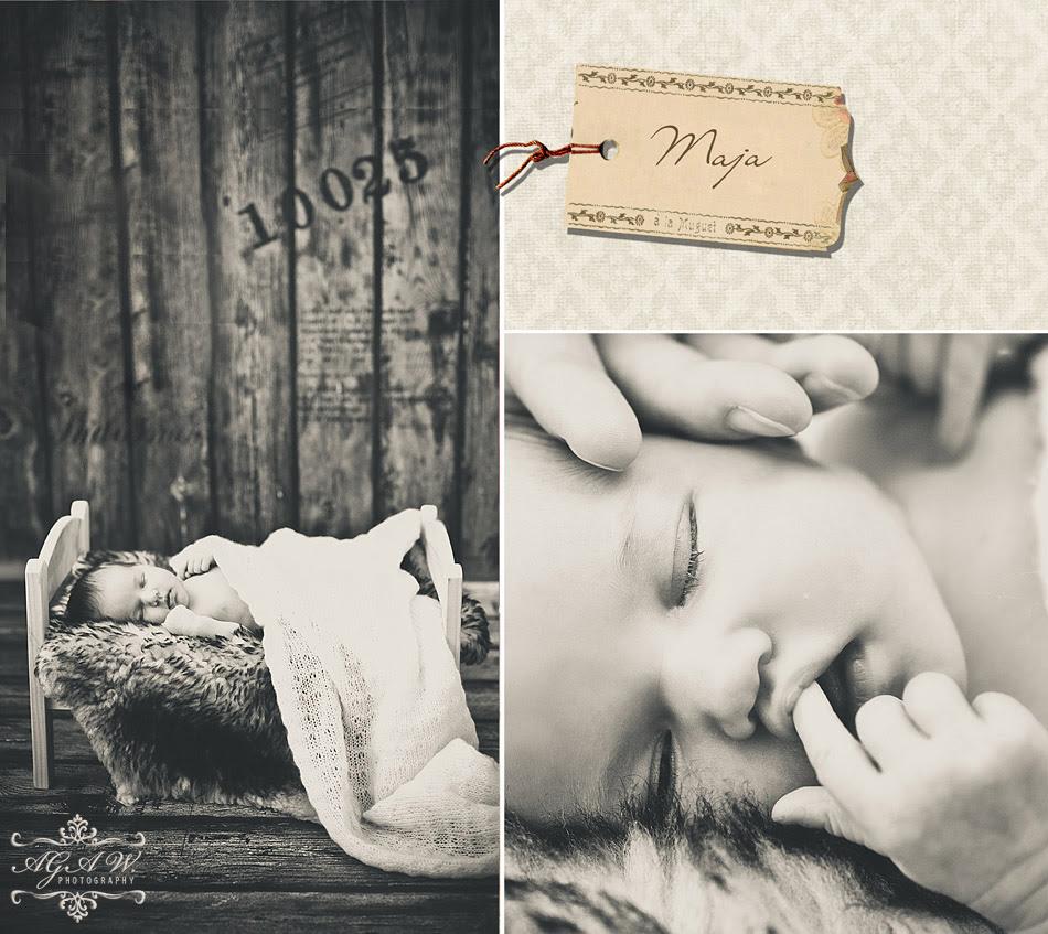 fotografia noworodków na Podhalu