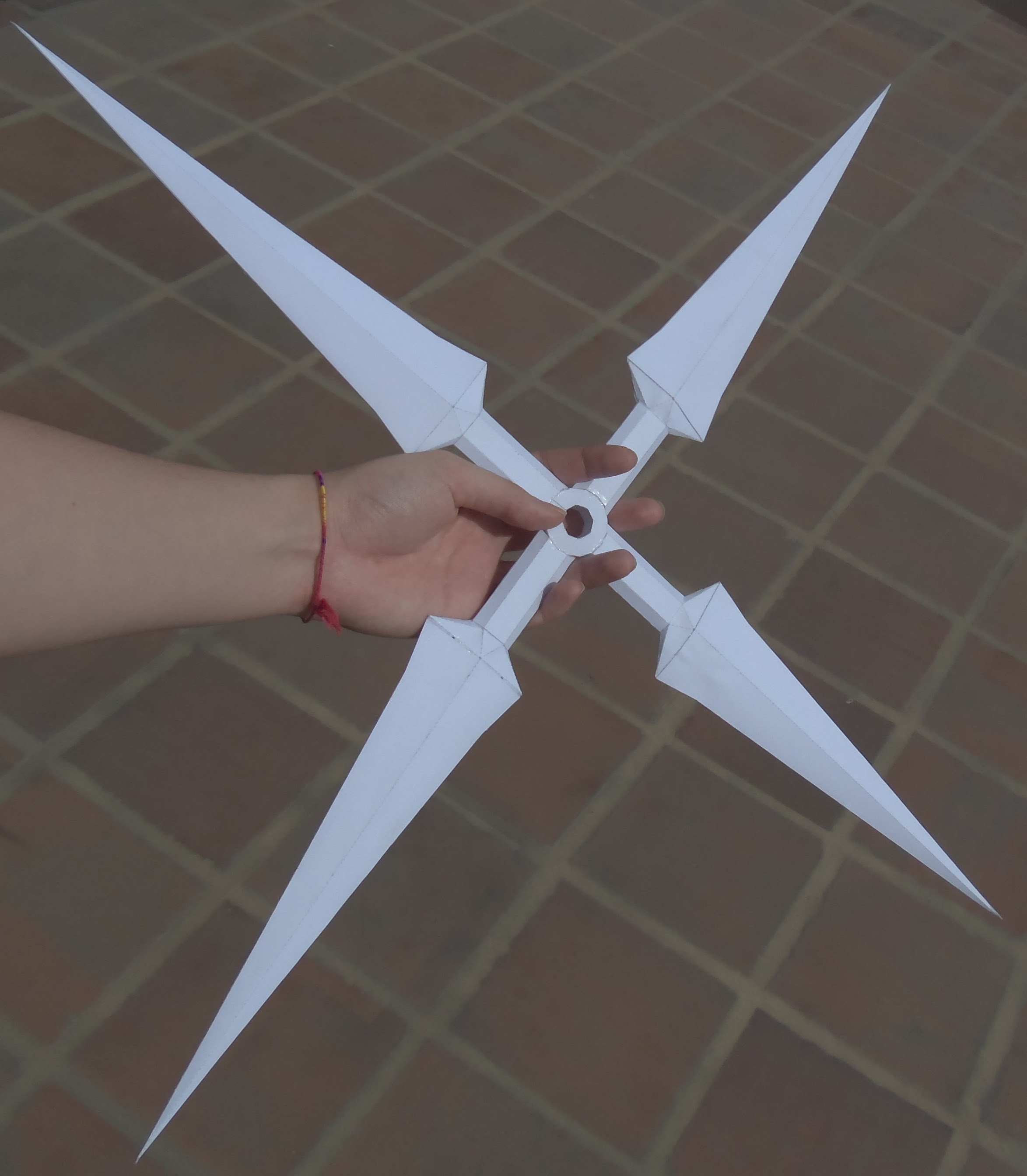 "Origami Shuriken (aka ""Ninja Throwing Star"") 