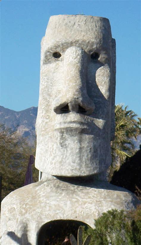 Tucson's Famous Giant Tiki Sculpture is Resurrected