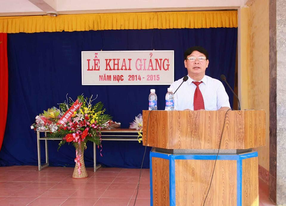 Thầy Trương Công Hội nguyên hiệu trưởng nhà trường