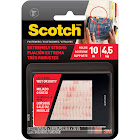"3M Scotch Dual Lock Reclosable Fasteners, Clear, 1"" x 3"" - 2 pair"