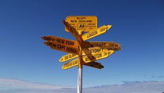 Stirling Point Signpost, Bluff