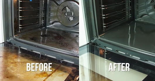 Water, Baking Soda, and Vinegar is All You Need to Make Your Oven Sparkle! - David Avocado Wolfe