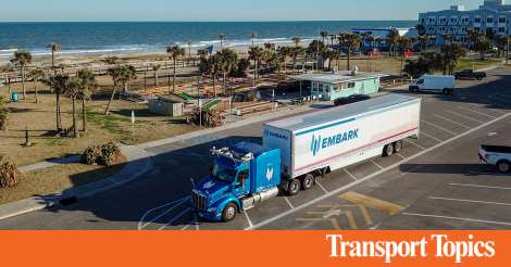 Embark Self-Driving Truck Completes Coast-to-Coast Test Run