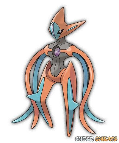 Deoxys  Pokemon Omega Ruby