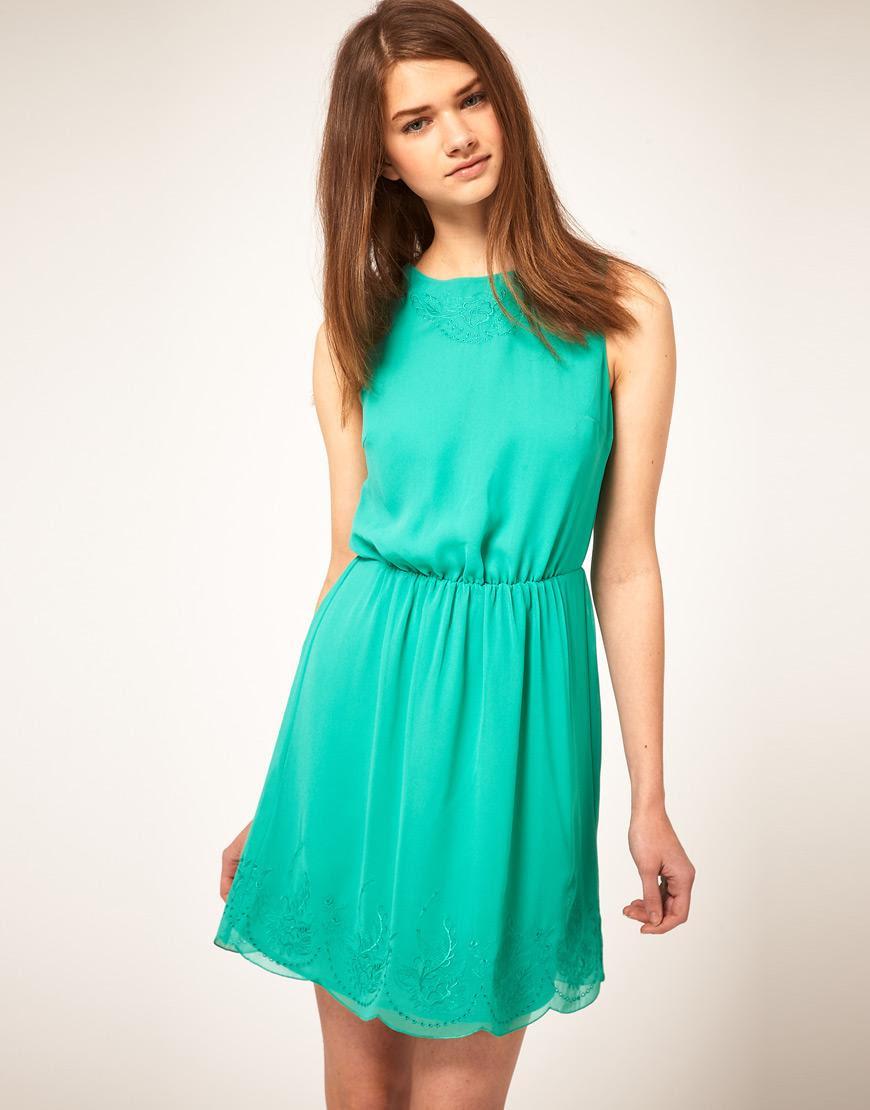 Vestidos verde agua ¿ya tienes el tuyo?