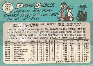#326 Dwight Siebler (back)