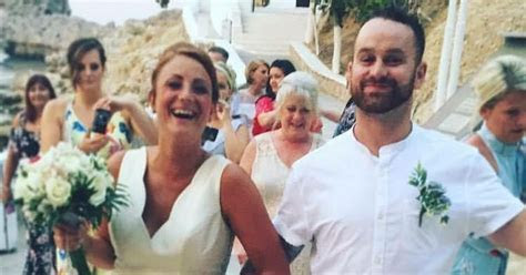 Brit couple who took 'sex act' wedding snap in Greece