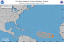 Wave in eastern Atlantic may develop into a tropical depression this week, forecasters say