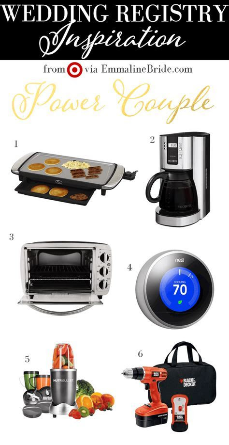 Registry Must Haves from Target: #7   Power Couple