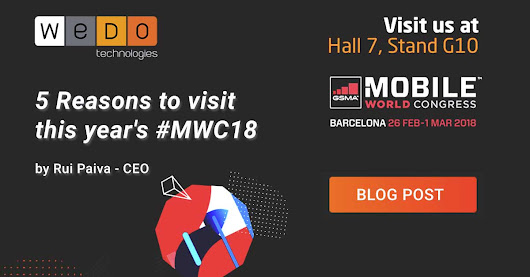 5 Reasons to visit this year's #MWC18