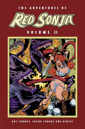Adventures of Red Sonja, v. 2 cover