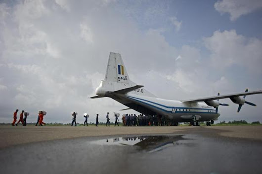 Myanmar plane debris found in Andaman Sea