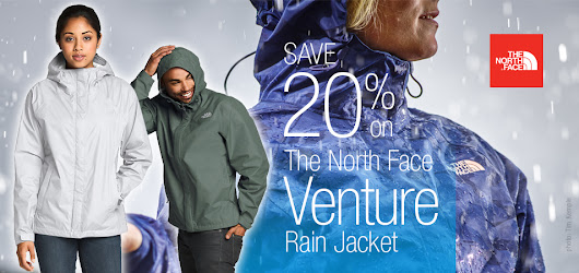 The North Face Venture Rain Jacket - Adventure Guide