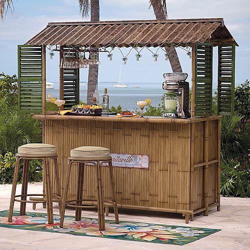 Margaritaville Tiki Bar (Bar stools sold separately), Patio