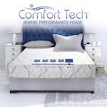 """Comfort Tech 10"""" Firm Serene Foam Mattress, Twin XL"""
