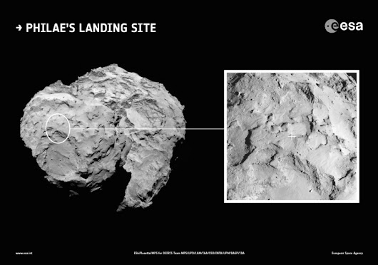 A landing site for Philae, but it's not going to be easy | The Planetary Society