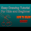 Easy Drawing Fruit, Vegetables And Flower - YouTube