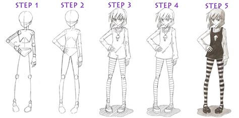 complete guide  drawing  anime girl  emily myers