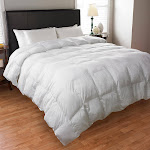 The Beyond Down Comforter Filled with Synthetic Down, King