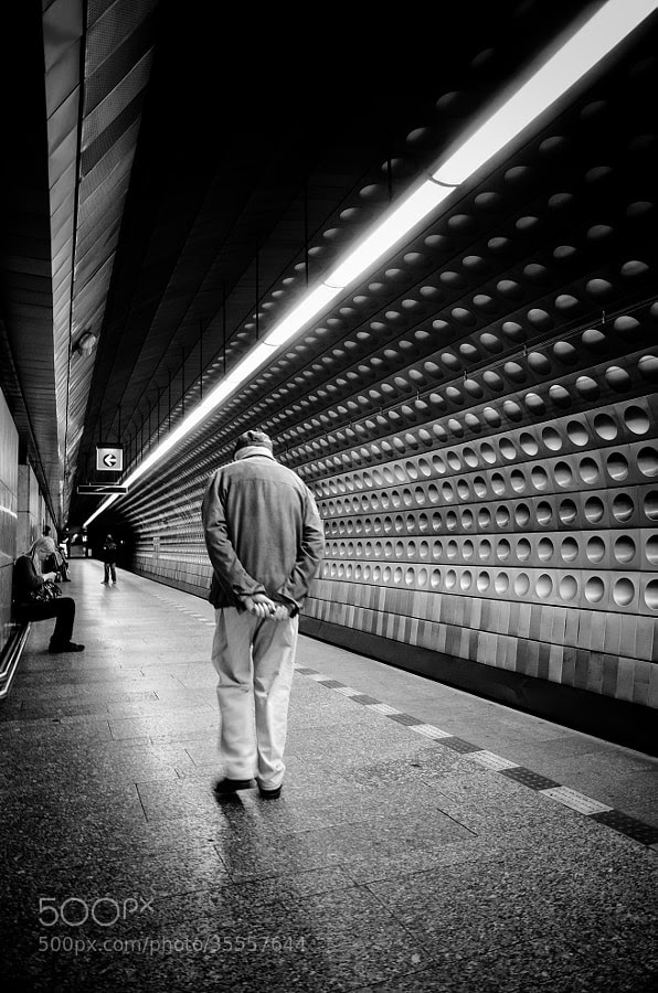 Photograph Walk The Line by Martin Hricko on 500px